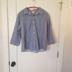 L.L.Bean button up shirt